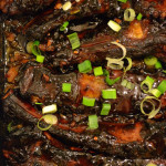 sticky pork ribs