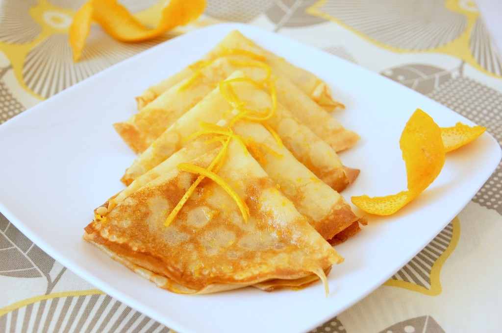 how to prepare CREPE SUZETTE