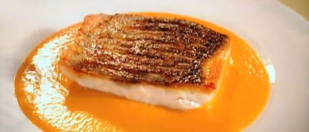 Gordon ramsays sea bass pepper sauce for Turkish sea bass recipe