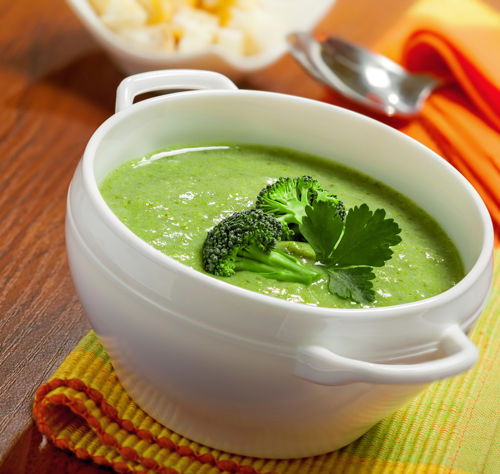 broccoli soup Gordon Ramsay's Broccoli Soup