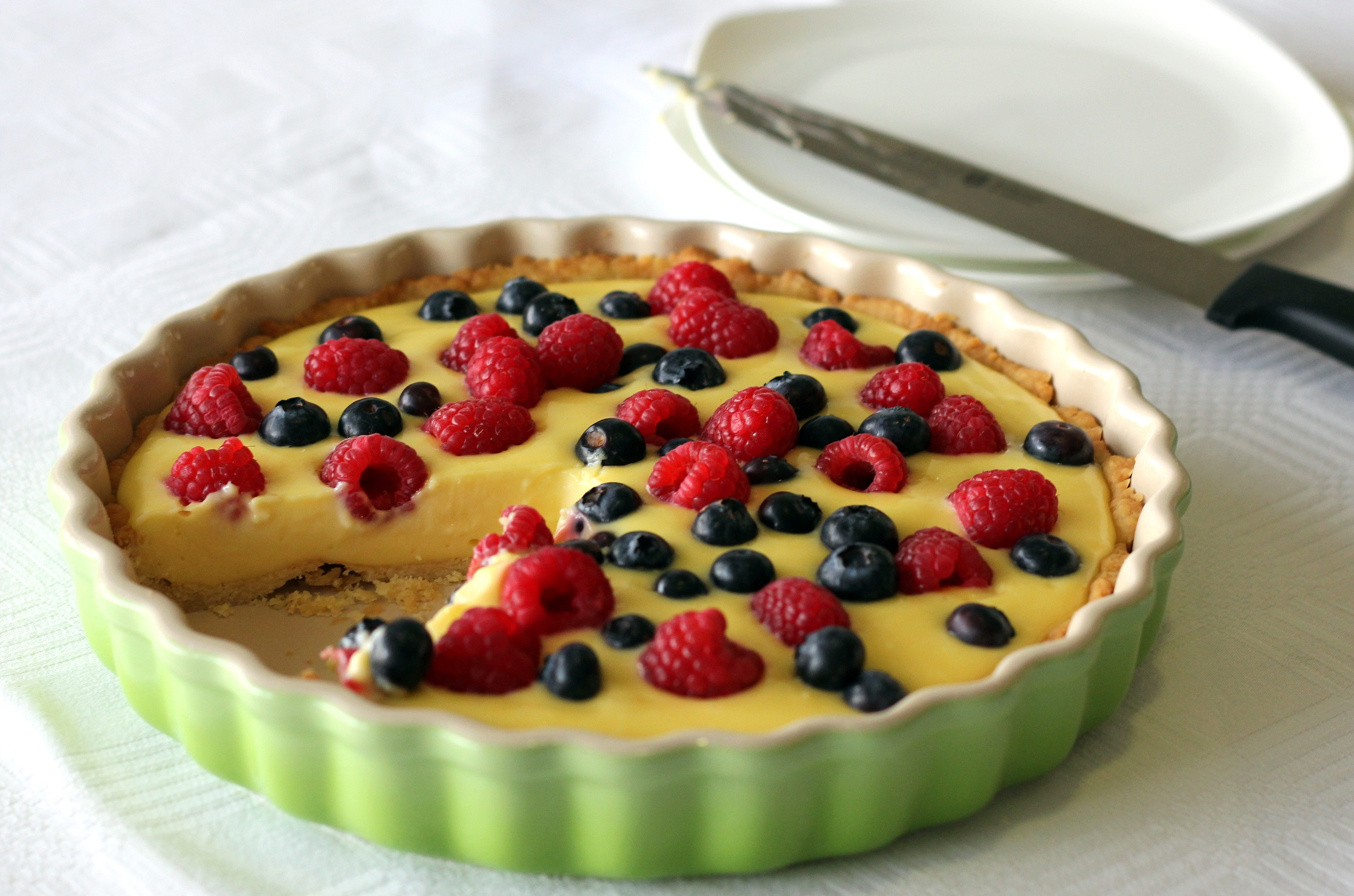 Gordon Ramsay's Lemon tart with summer berries