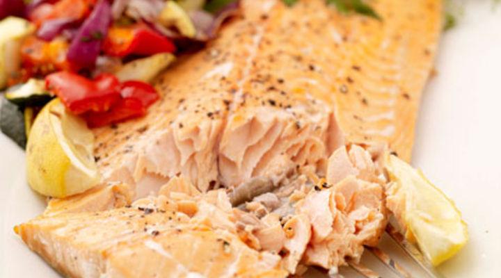 Mediterranean salmon fillet ramsay