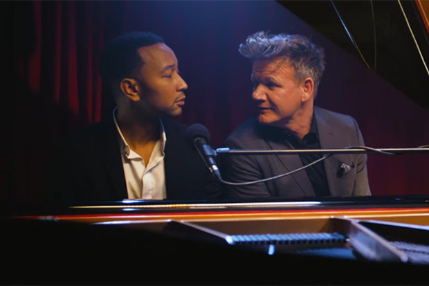 gordon ramsay, john legend, music, duo, album