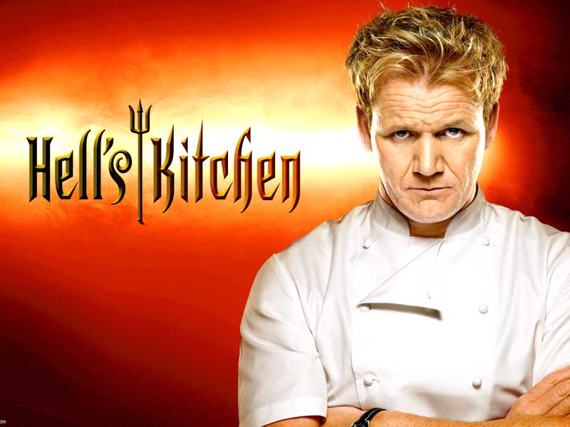 gordon ramsay, Hell's Kitchen, restaurant, las vegas