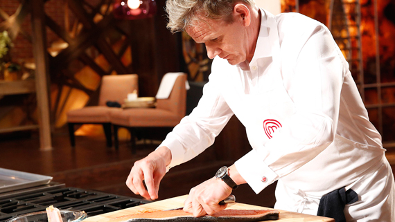 chef, gordon ramsay, fillet salmon, cooking, food, healthy, diet, calories, weight loss, celebrity chefs, f word, hell's kitchen