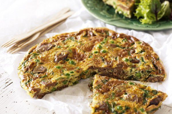 gordon ramsay, Fennel Sausage Frittata, chef, recipe, how to, low carb, diet, weight loss, celebrity