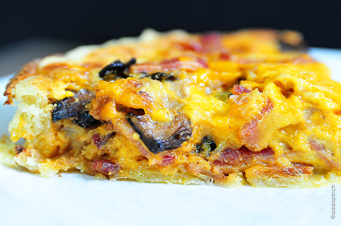 gordon ramsay Rocket mushroom bacon quiche Chef Gordon Ramsay Rocket, mushroom & bacon quiche Recipe