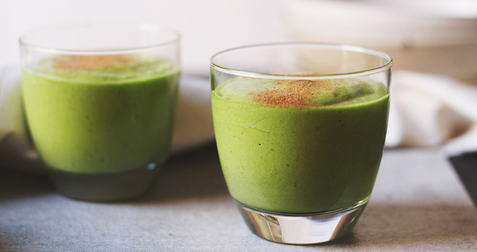 Chef Gordon Ramsay, Green Tea Smoothie, Recipe